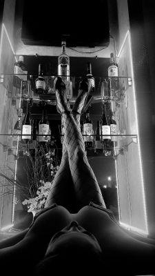 Лина — страпон, урологический массаж